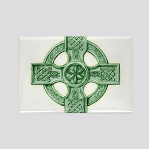Celtic Cross Equilateral Rectangle Magnet