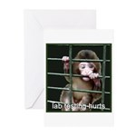 Lab Testing Hurts Greeting Cards (Pk of 20)
