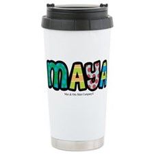 Maya - Personalized Design Stainless Steel Travel