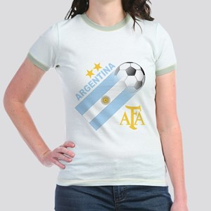 Argentina world cup soccer Jr. Ringer T-Shirt