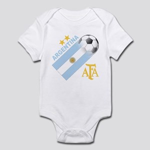 Argentina world cup soccer Infant Bodysuit