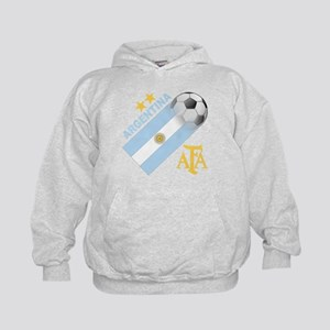 Argentina world cup soccer Kids Hoodie