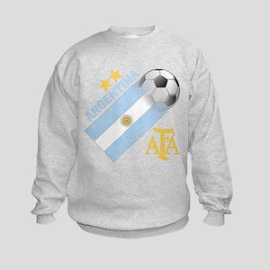 Argentina world cup soccer Kids Sweatshirt