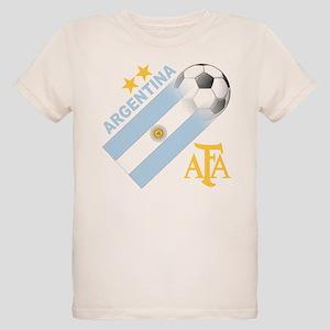 Argentina world cup soccer Organic Kids T-Shirt