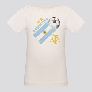 Argentina world cup soccer Organic Baby T-Shirt
