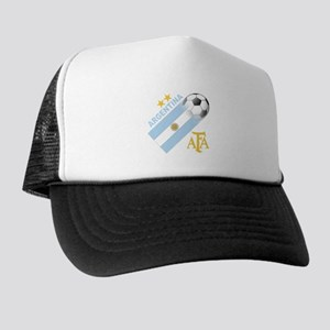 Argentina world cup soccer Trucker Hat