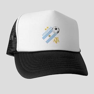 Argentina world cup soccer Trucker Hat