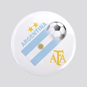 """Argentina world cup soccer 3.5"""" Button"""