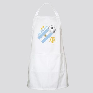 Argentina world cup soccer BBQ Apron