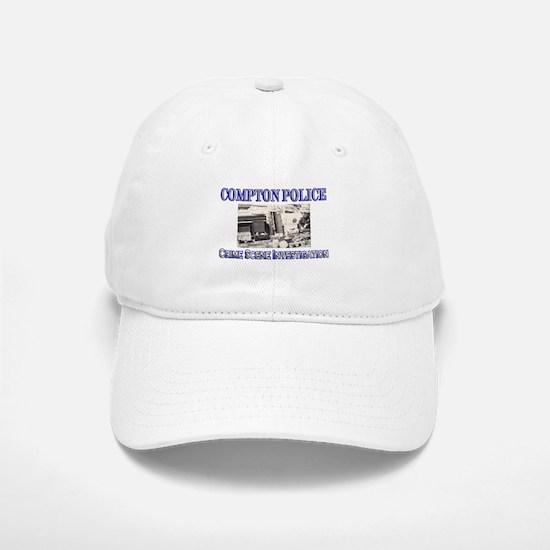 Compton Police CSI Baseball Baseball Cap