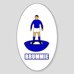 Brummie Sticker (Oval)