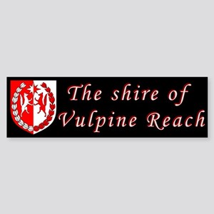 Vulpine Reach Sticker (Bumper)