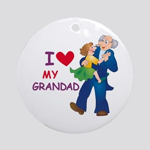 I Love My Grandad Ornament