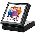 I Love my Grandma Keepsake Box
