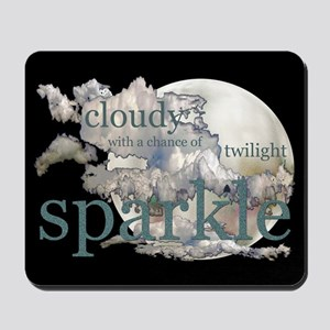 Cloudy With A Chance Of Spark Mousepad