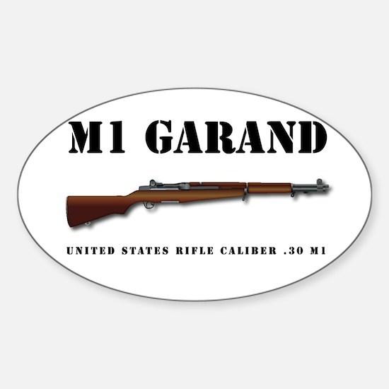 M1 Garand Sticker (Oval)