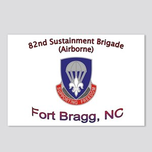 82nd Sustainment BDE Postcards (Package of 8)