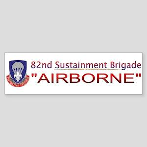 82nd Sustainment BDE Sticker (Bumper)
