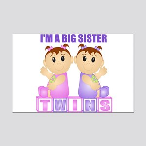 I'm A Big Sister (PGG:blk) Mini Poster Print