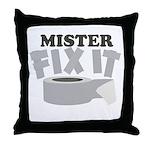 Mr. Fix It Throw Pillow