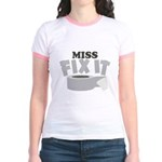 Miss Fix It Jr. Ringer T-Shirt