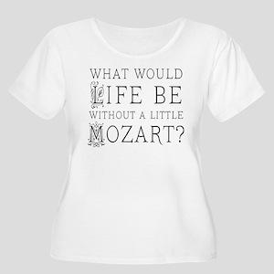 ff2455d860e1 Life Without Mozart Women s Plus Size Scoop Neck T
