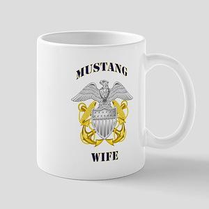 Blue Mustang Wife Mug