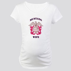 Pink Mustang Wife 2 Maternity T-Shirt