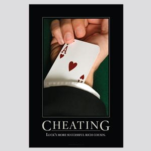 Cheating Large Poster