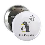 """Evil Penguins 2.25"""" Button"""