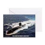 USS ALBUQUERQUE Greeting Card