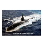USS ALBUQUERQUE Postcards (Package of 8)