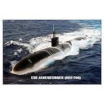 USS ALBUQUERQUE Large Poster