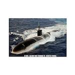 USS ALBUQUERQUE Rectangle Magnet
