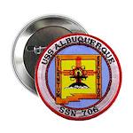 """USS ALBUQUERQUE 2.25"""" Button"""