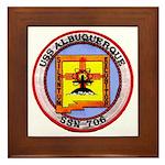 USS ALBUQUERQUE Framed Tile