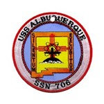 USS ALBUQUERQUE Ornament (Round)