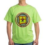 USS ALBUQUERQUE Green T-Shirt