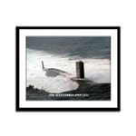 USS ALEXANDRIA Framed Panel Print