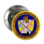 "USS ALEXANDRIA 2.25"" Button"