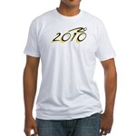 2010 Black/Yellow Fitted T-Shirt