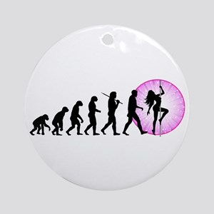 Pole Dancing Ornament (Round)