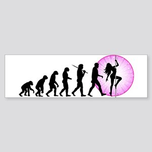 Pole Dancing Sticker (Bumper)