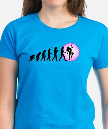 Pole Dancing Women's Dark T-Shirt