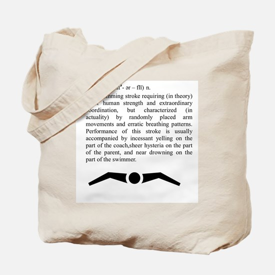 Butterfly (definition) Tote Bag