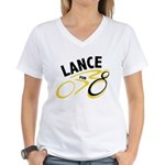 Lance for 8 Women's V-Neck T-Shirt
