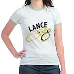 Lance for 8 Jr. Ringer T-Shirt
