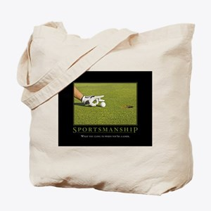 Sportsmanship Tote Bag