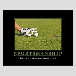 Sportsmanship Small Poster
