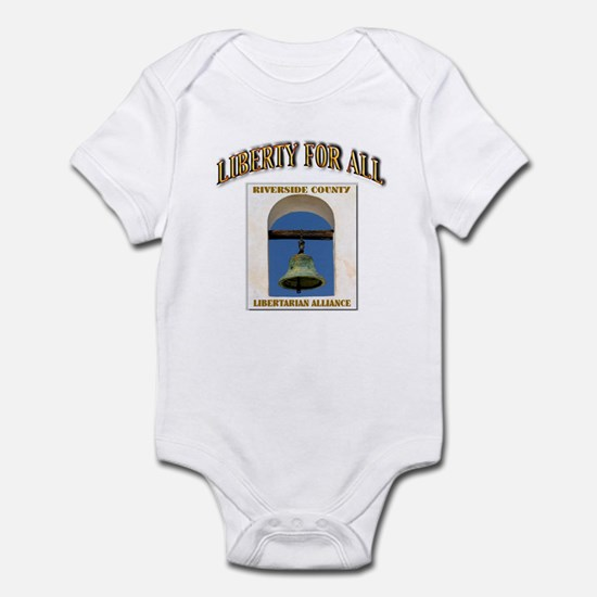 Riverside County Libertarian Infant Bodysuit